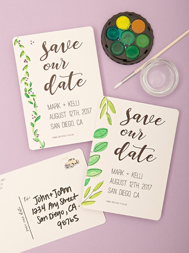 Free Save The Dates Templates To Download