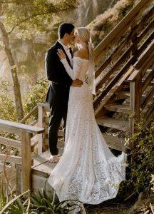 Off-the-Shoulder Wedding Dresses