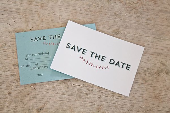 image regarding Free Printable Save the Date called 15 Cost-free Printable Help save the Dates SouthBound Bride