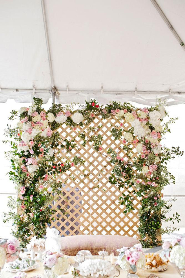 spectacular flower walls inspire wedding backdrop