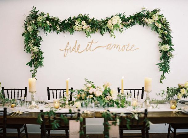 013 southboundbride wedding trend flower walls backdrop SouthBound Bride