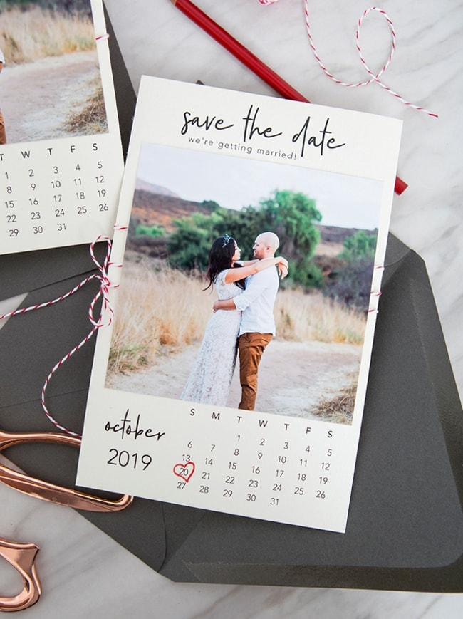 Make Your Own Save The Date Cards