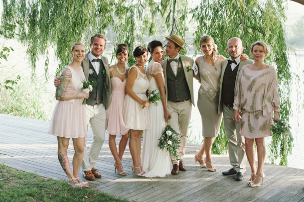 Garden Party Wedding Attire Photo Album Weddings Pro