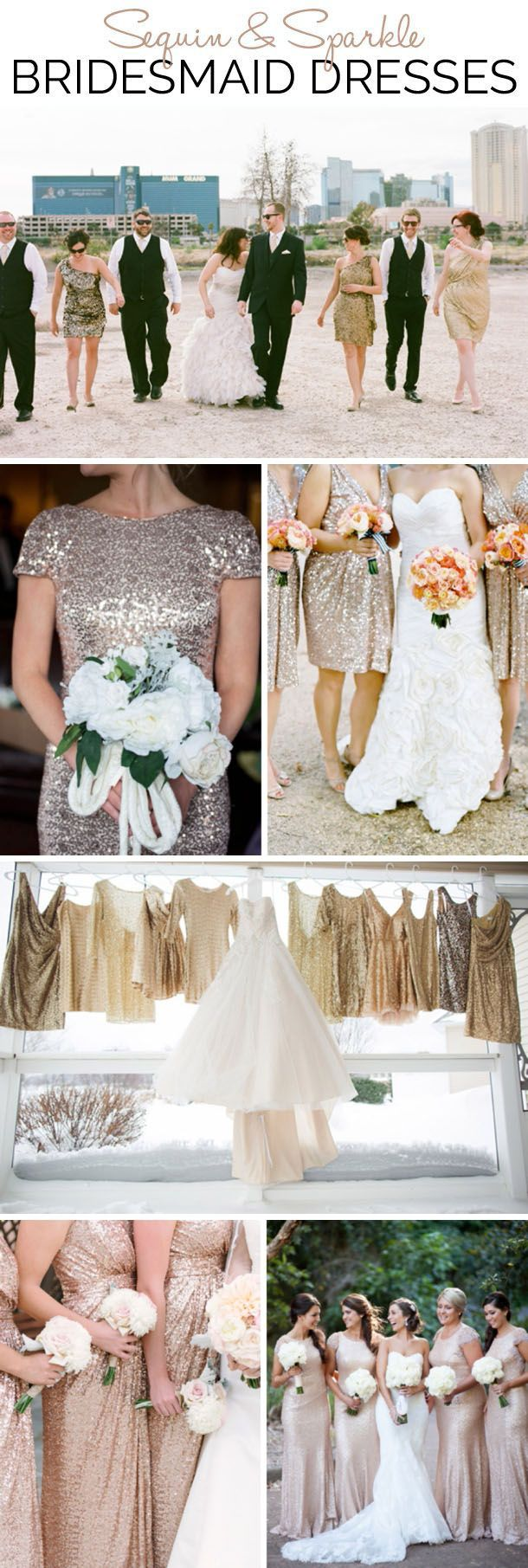 Sequin & Sparkle Bridesmaid Dresses | SouthBound Bride