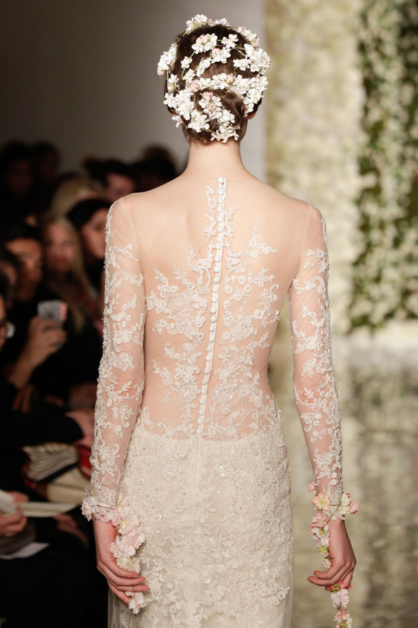 From catwalk to aisle 10 key wedding dress trends for 2015 for Tattoos and wedding dresses