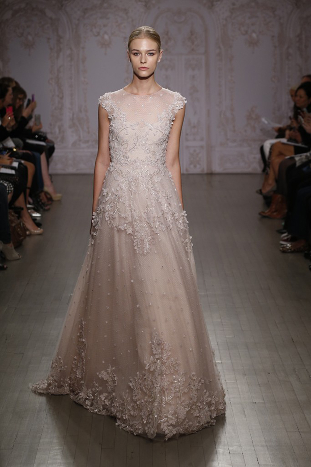 Sbb wedding dress trends 2015 pastel 01 southbound bride for Wear to wedding dresses