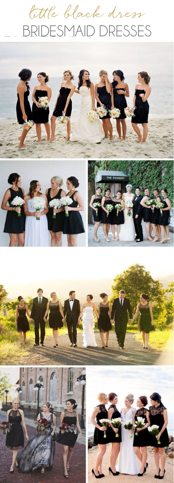 Little Black Bridesmaid Dresses | SouthBound Bride