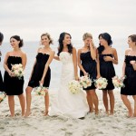 Get the Look: Little Black Bridesmaid Dresses