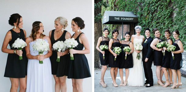 Short Black Bridesmaid Dresses Cocktail Dress