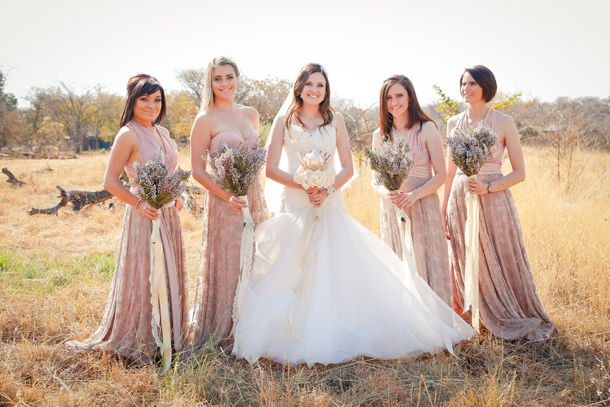 Rustic Fynbos Wedding At Makinky Manzi By 5 Talents Photography
