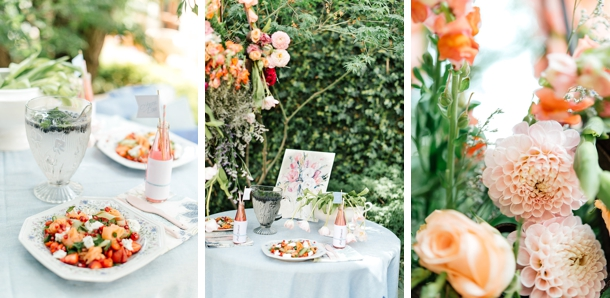 Pastel Wedding Inspiration | Credit: Leandri Kers