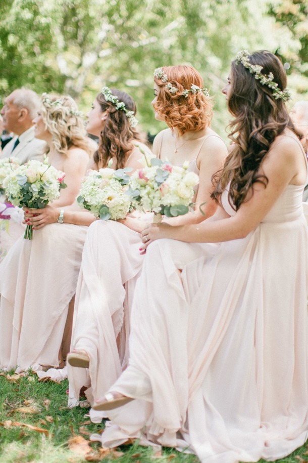 Boho Bridesmaid Flower Crowns Southbound Bride