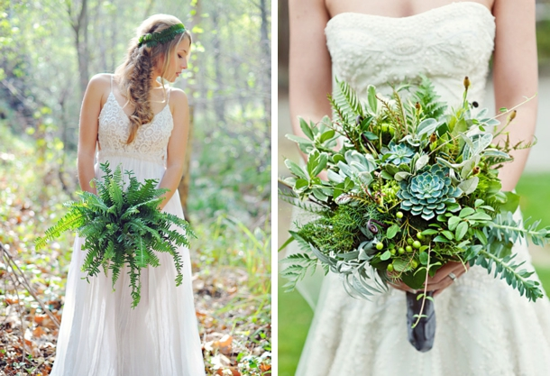 All Of These Bouquets Have No Or Minimal Flowers And They Re Just Darling You Heard It Here First Foliage Is The New