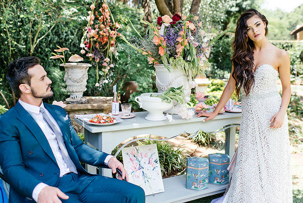 Outdoor Summer Wedding Inspiration | Credit: Leandri Kers | Featuring Miss Universe 2017 Demi-Leigh Nel-Peters