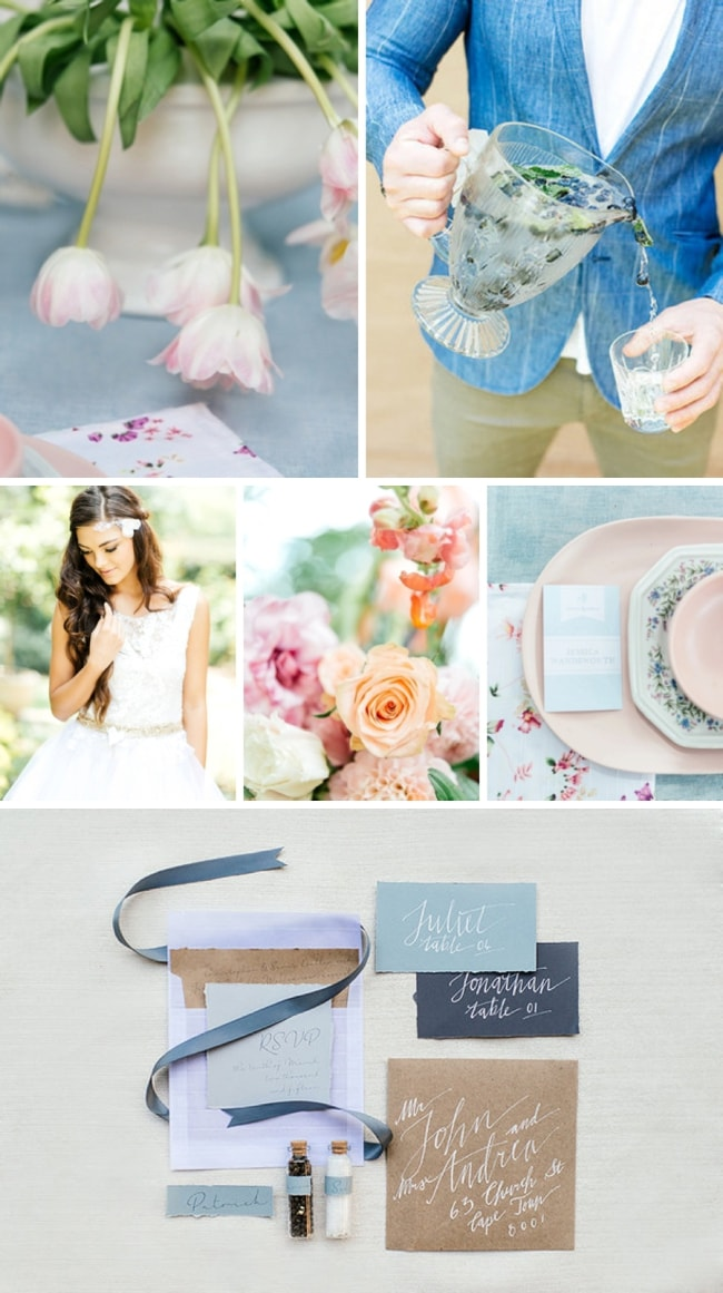 Pastel Wedding Inspiration by Garniche Studio & Leandri Kers | SouthBound Bride