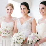 Get the Look: Sheer Illusion Bridesmaid Dresses