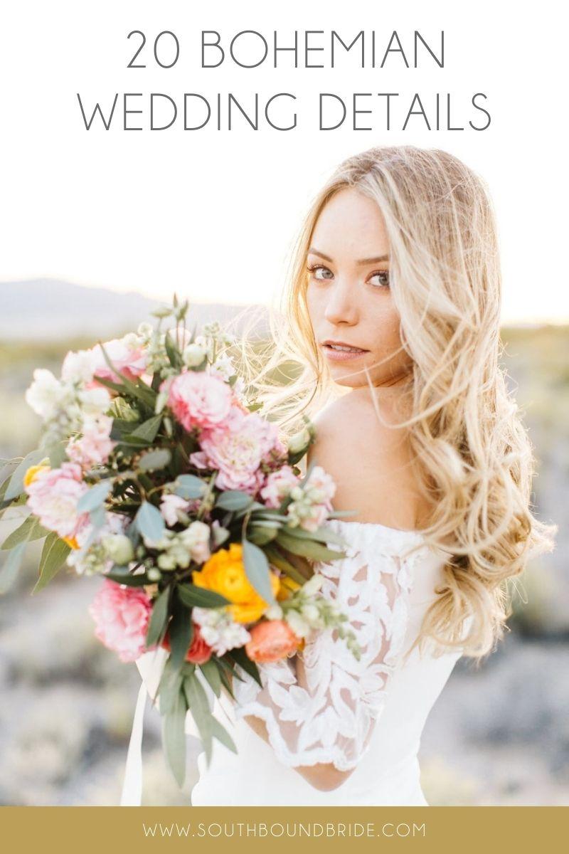 18 Boho Wedding Ideas   SouthBound Bride