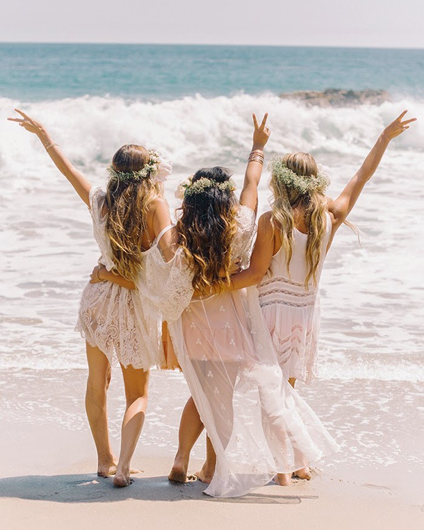 Boho Beach Bridesmaid Dresses