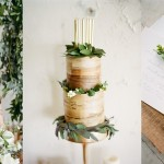 Green & Gold Wedding Inspiration by Mint Photography