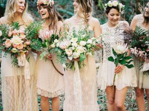 008-boho-white-lace-bridesmaid-dresses