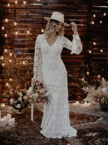 Romantic Bohemian Wedding Dresses