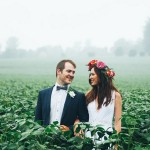 Misty Bohemian Wedding at Corrie Lynn Farm by Duane Smith {Michane & Nic}