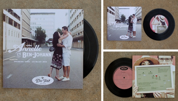 Finally, For You Music Lovers, I Canu0027t Think Of Anything More Awesome Than  A Little LP With A Custom Album Cover. I Especially Love The Way That The  Couple ...