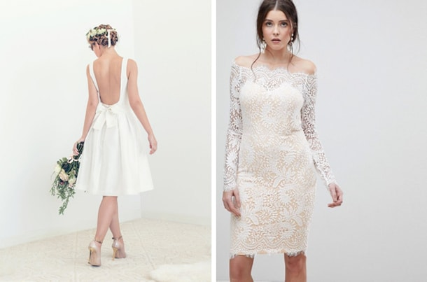 Affordable Short Wedding Dresses