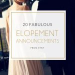 20 Fab Elopement Wedding Announcements
