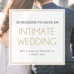 Why Have a Smaller Wedding?