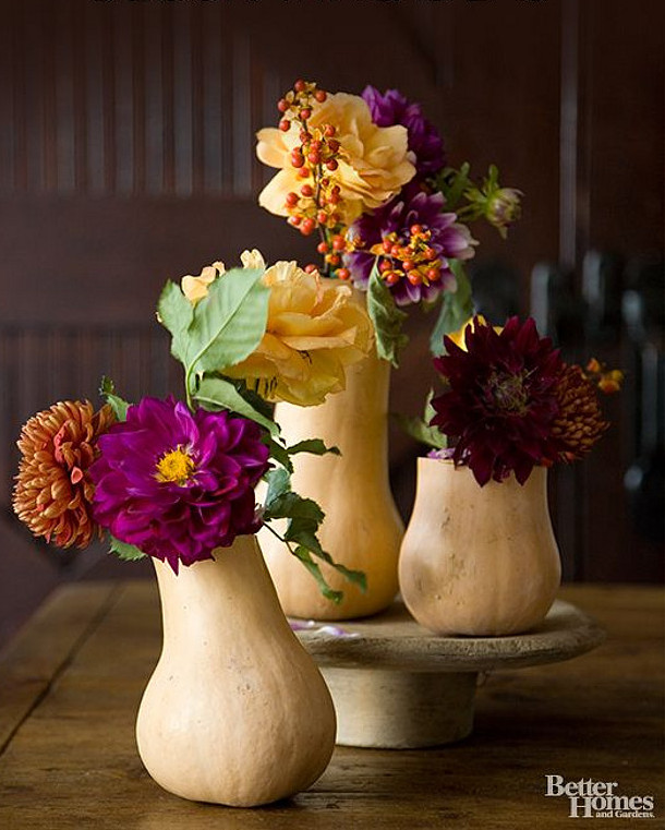Butternut Vases | Fall Wedding Ideas | SouthBound Bride