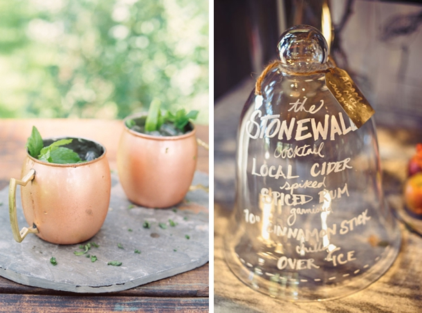 Fall Signature Cocktails | Fall Wedding Ideas | SouthBound Bride