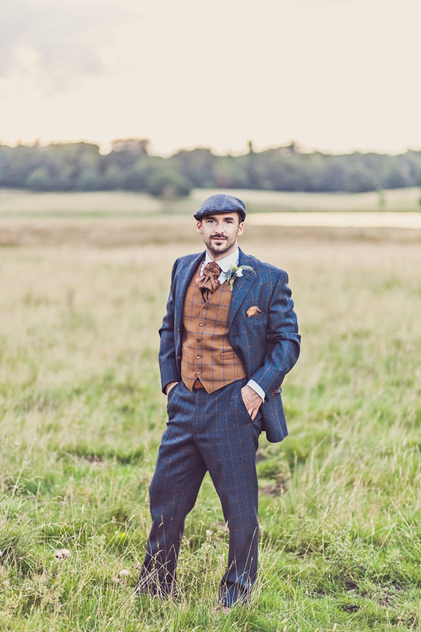 Tweed Suits for Grooms & Groomsmen