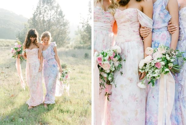floral-print-pastel-bridesmaid-dresses (7)