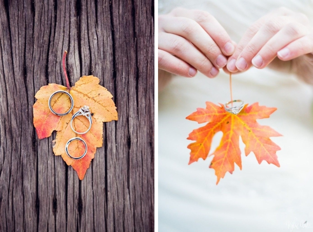 15 Romantic Ways To Incorporate Fall Leaves Into Your Wedding Decor