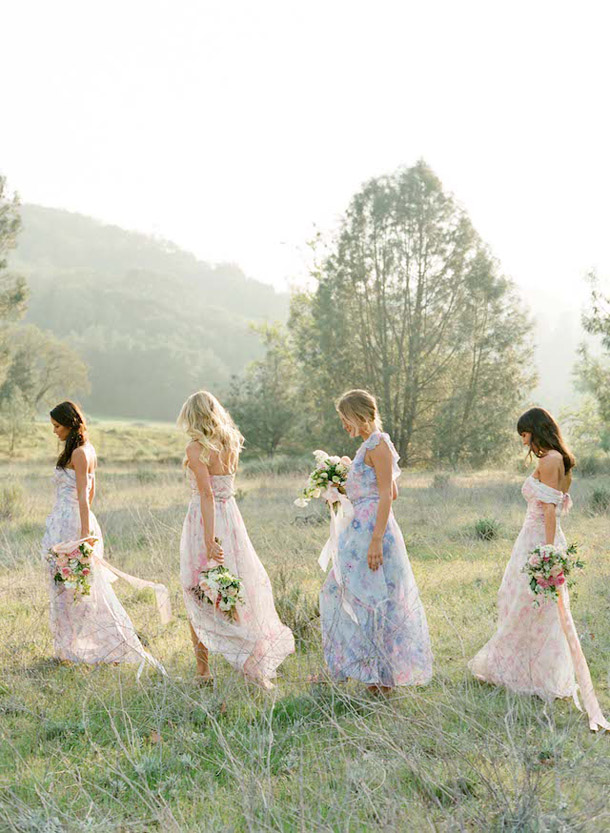 floral-print-pastel-bridesmaid-dresses (8)