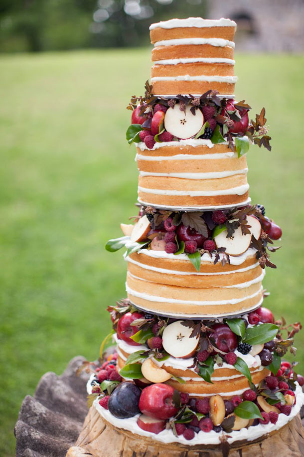 20 Naked Cakes for a Fall Wedding   SouthBound Bride