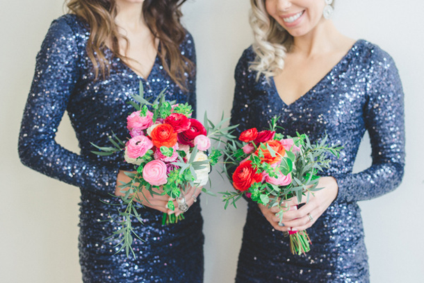 Sequin Bridesmaid Dresses With Sleeves