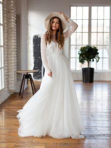 long sleeve wedding dresses from Etsy