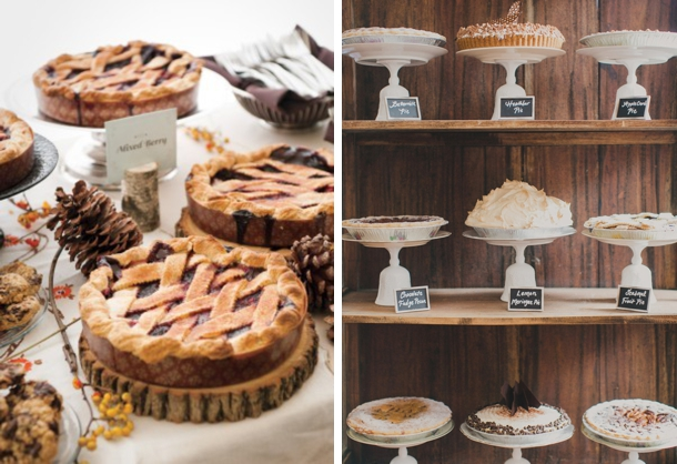 Wedding Pie Bars | Fall Wedding Ideas | SouthBound Bride