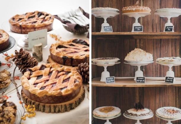 Wedding Pie Bars   Fall Wedding Ideas   SouthBound Bride