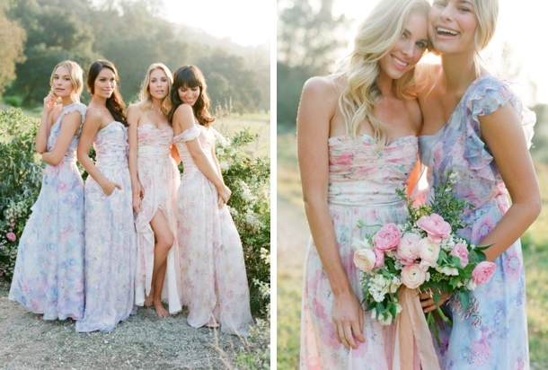 floral-print-pastel-bridesmaid-dresses (13)
