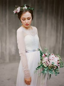 long sleeve wedding dresses from Etsy