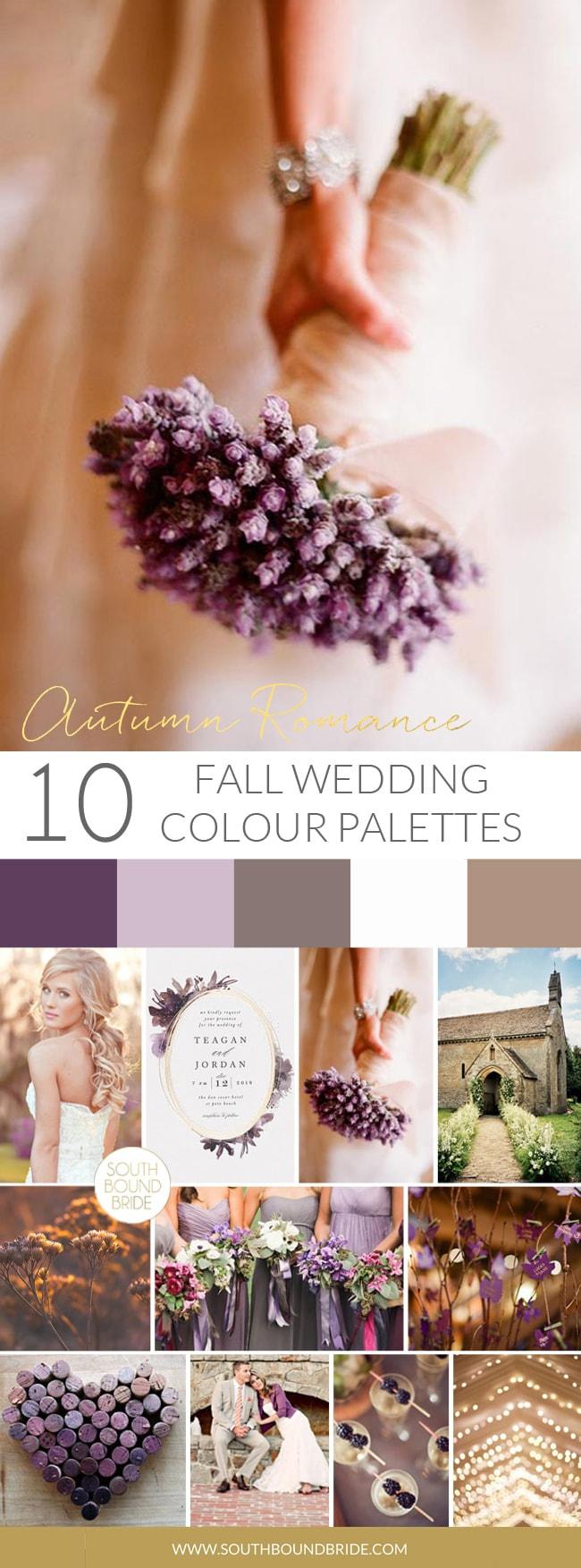 Autumn Romance Fall Wedding Palette | SouthBound Bride