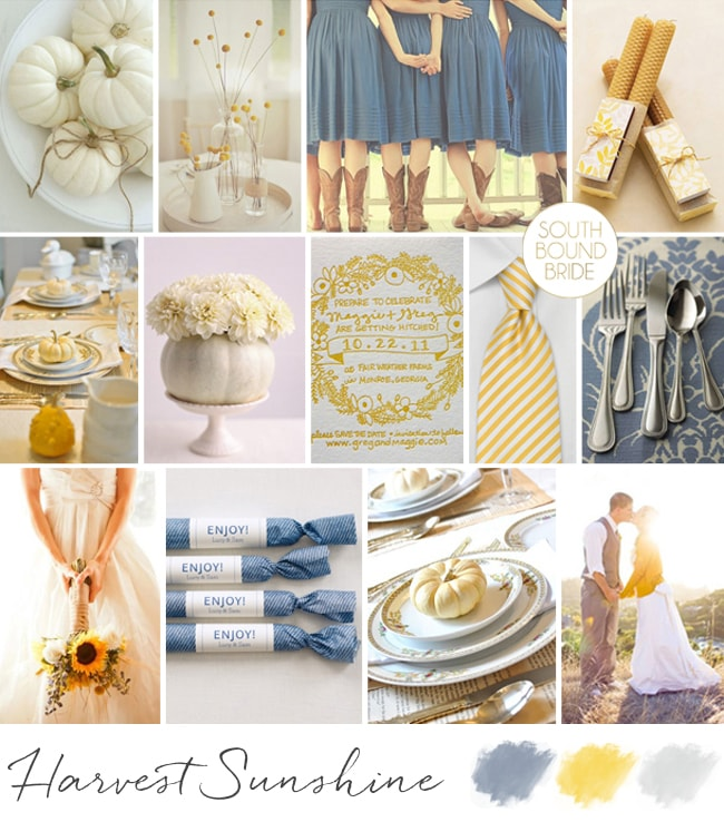 Harvest Sunshine Inspiration Board