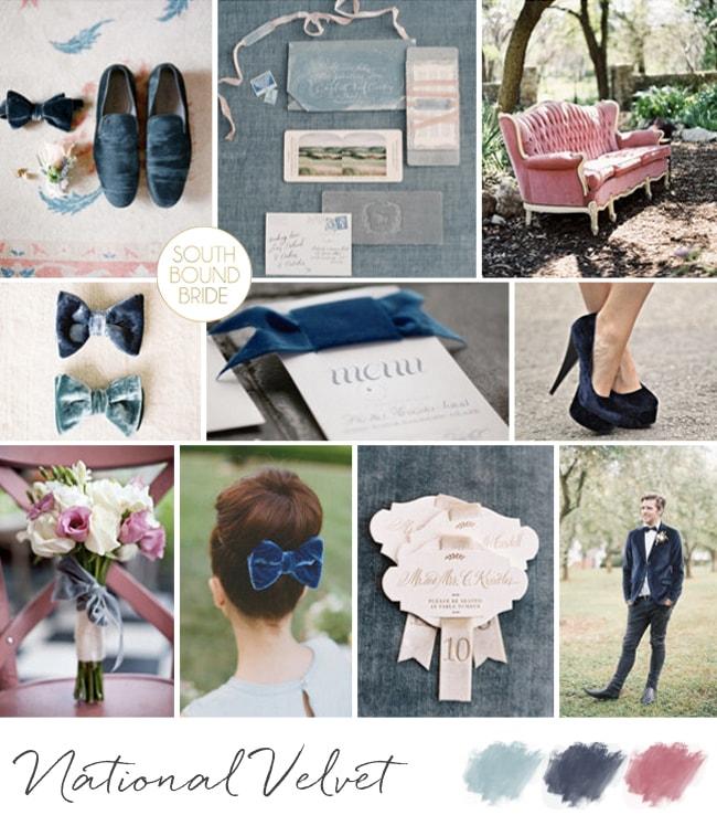 Velvet Wedding Inspiration | SouthBound Bride