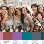 Pantone Fall 2015 Bridesmaid Dress Inspiration