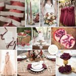 Inspiration Board: Pomegranate & Brass