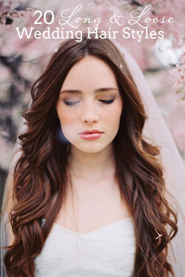 20 Long Loose Wedding Hairstyles Southbound Bride