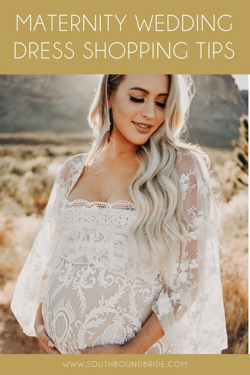 Maternity Wedding Dress Shopping Tips | SouthBound Bride
